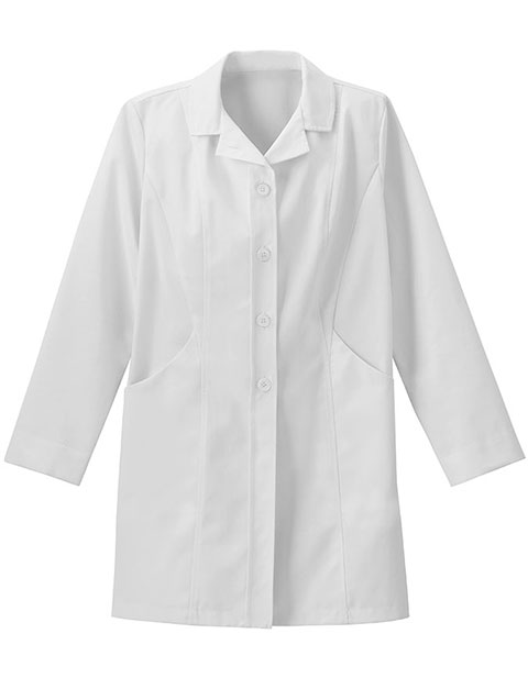 Meta Women's Double Curve Pocket Stretch Lab Coat