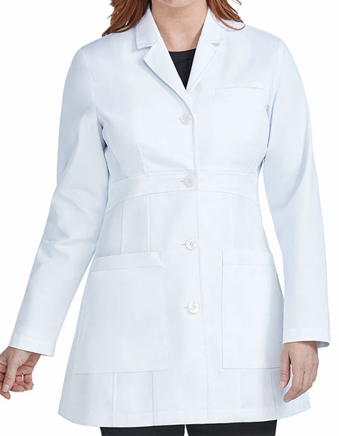 Med Couture Boutique Women's Tailored Length Lab Coat