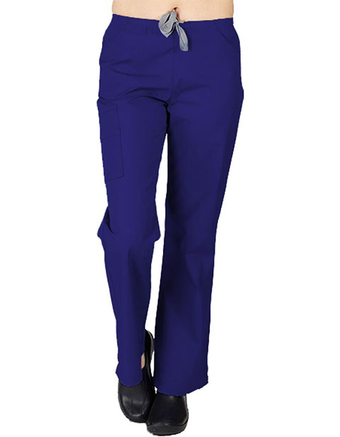 Natural Uniforms Women's Two Tone Flare Leg Pant