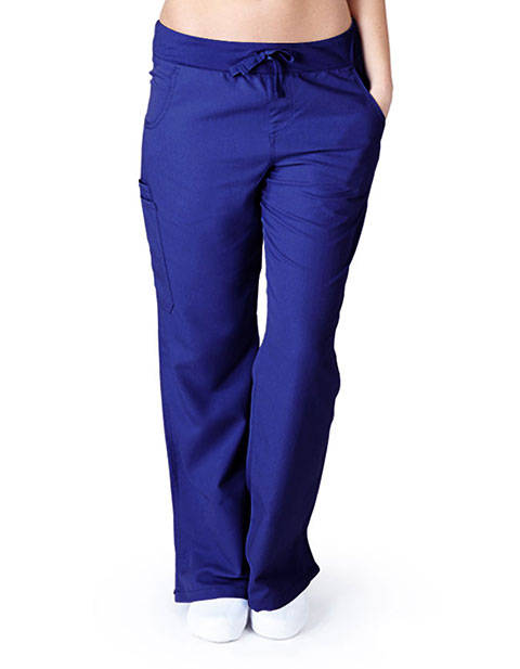 Natural Uniforms Womens  Ultrasoft Waistband With Adjustable Drawstring Scrub Pants