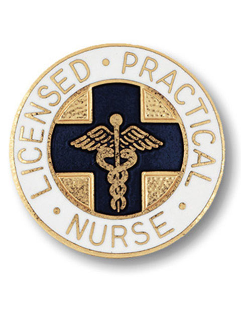 Prestige Licensed Practical Nurse Emblem Pin