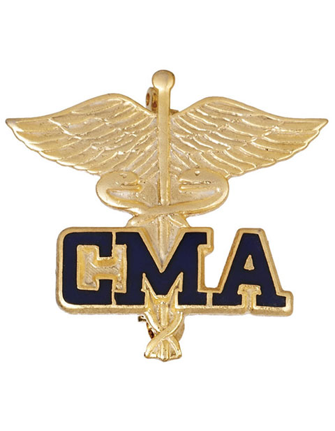 Prestige Certified Medical Assistant Pin