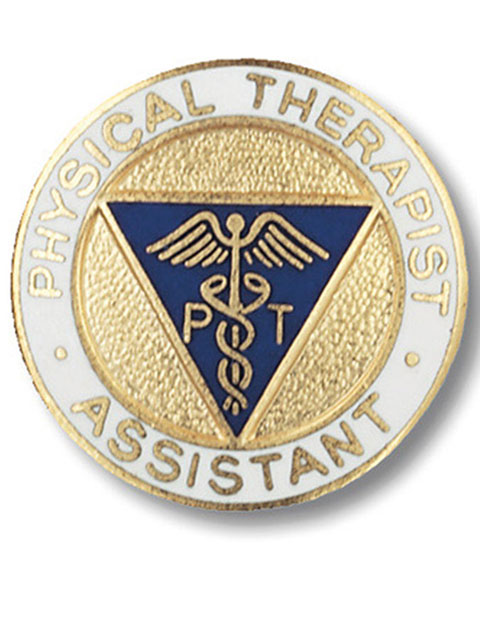 Prestige Physical Therapist Assistant Emblem Pin