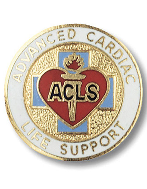 Prestige Advanced Cardiac Life Support Emblem Pin