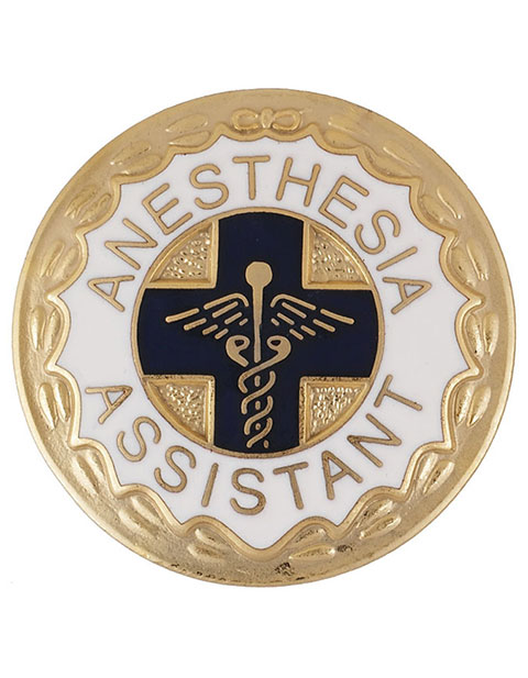 Prestige Anesthesia Assistant Emblem Pin