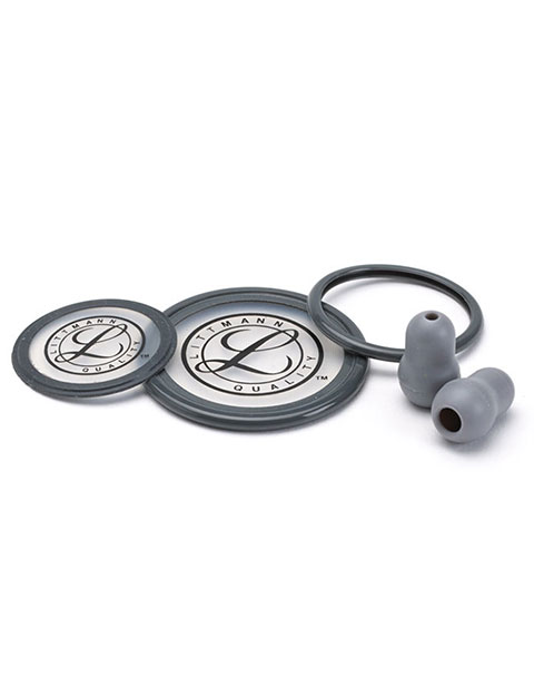 Littmann Stethoscope Spare Gray Parts Kit - Cardiology III