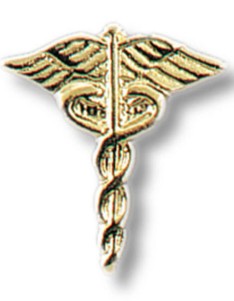 Prestige Caduceus Medical Tac Pin