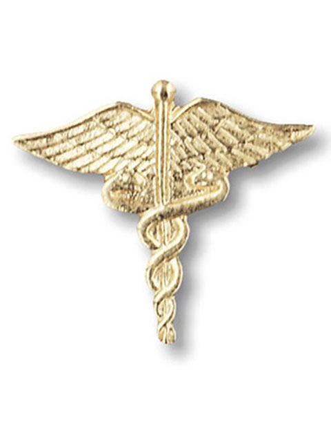 Prestige Large Gold Caduceus