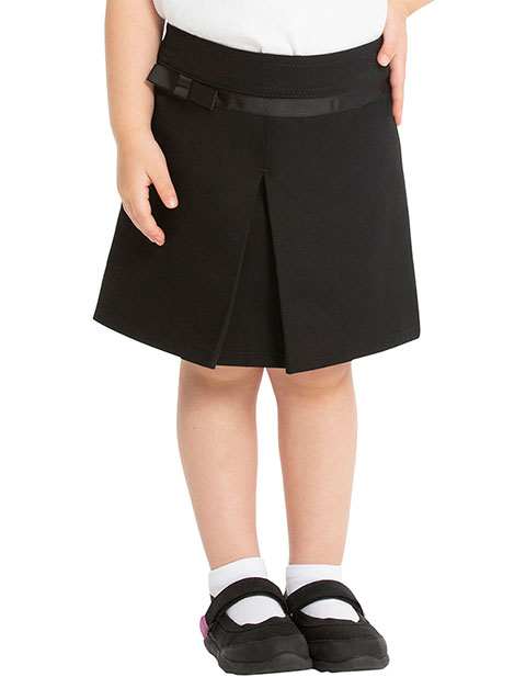 Real School Uniform Pleat Scooter With Ribbon Bow