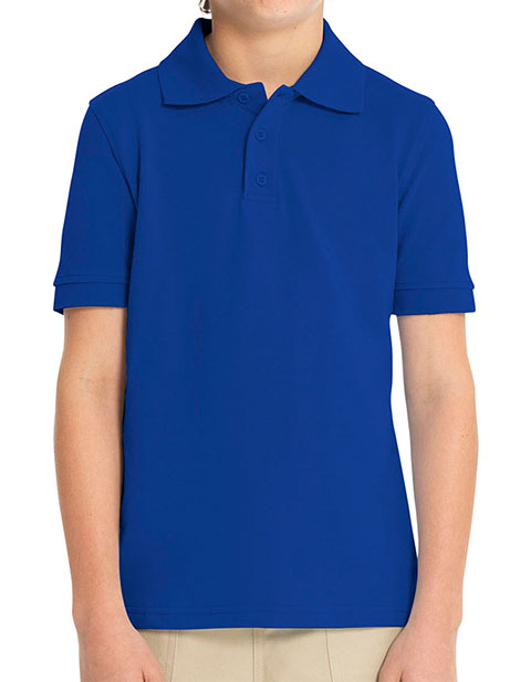 Real School Uniforms Unisex Youth Short Sleeve Pique Polo