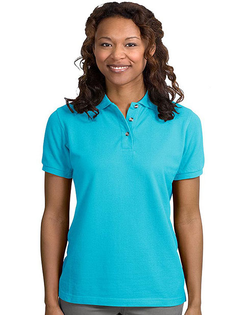 Sanmar Port Authority Ladies Pique Knit Sport Shirt