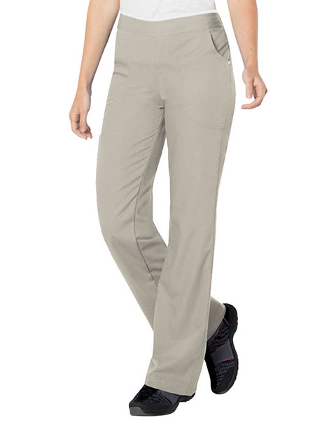 Urbane Ultimate Women's Bailey Cargo Elastic Waistband Medical Scrub Tall Pants