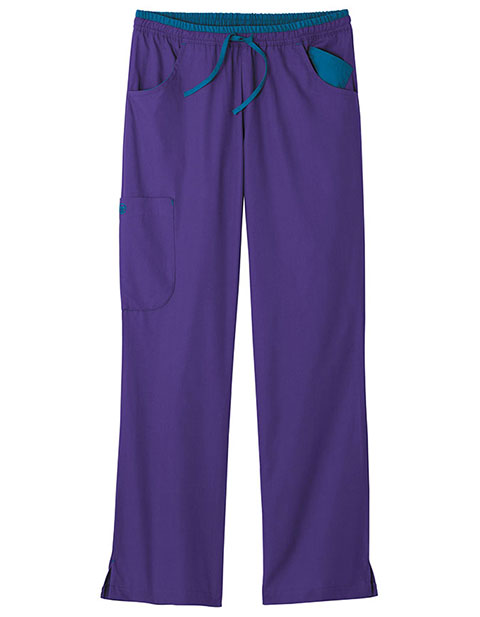 White Swan Fundamentals Women'S Flip For Fun Tall Scrub Pant