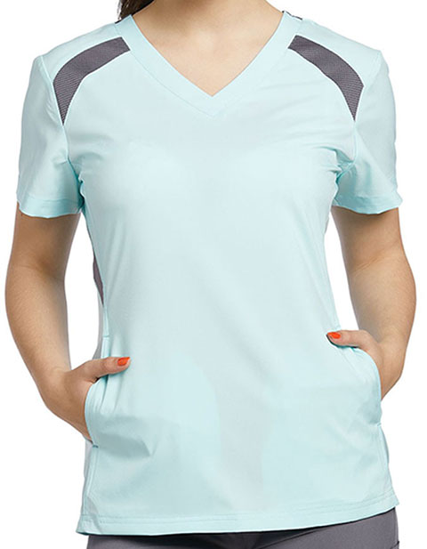 Whitecross FIT Women's V-Neck Jade Scrub Top