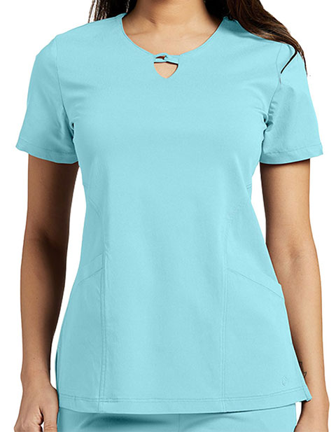 Whitecross FIT Women's Gigi V-Neck Solid Scrub Top