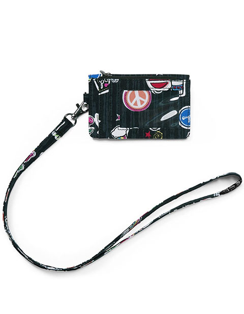 Wonderwink Unisex Zip Id Case With Lanyard