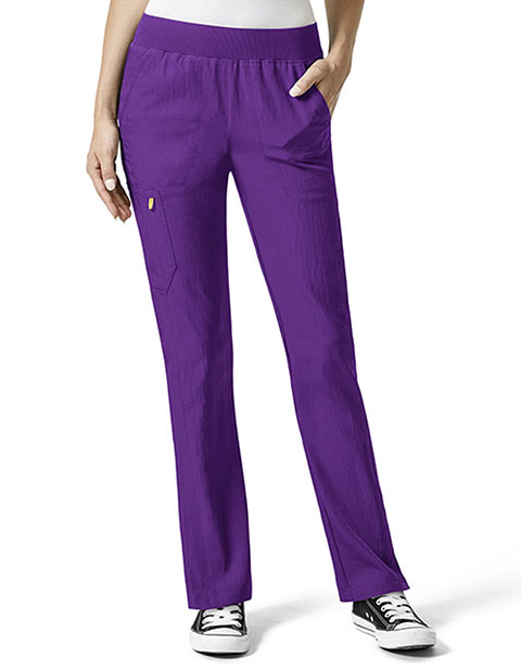 WonderWink Four-Stretch Women's Flexi Waist Scrub Pants