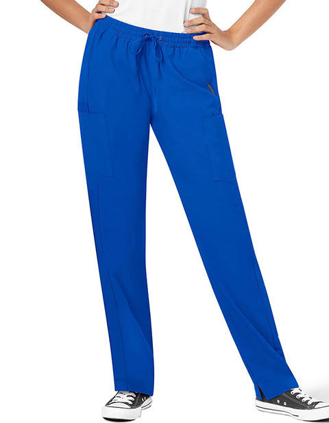 WonderWink Neo Women's Fashion Essential Straight Leg Petite Pant