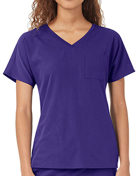 WonderWink Women's Dolman Solid Scrub Top
