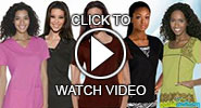 baby phat solid scrubs video