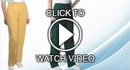 adar scrub pants video